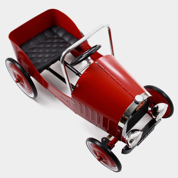 Classic Red Pedal Car Top