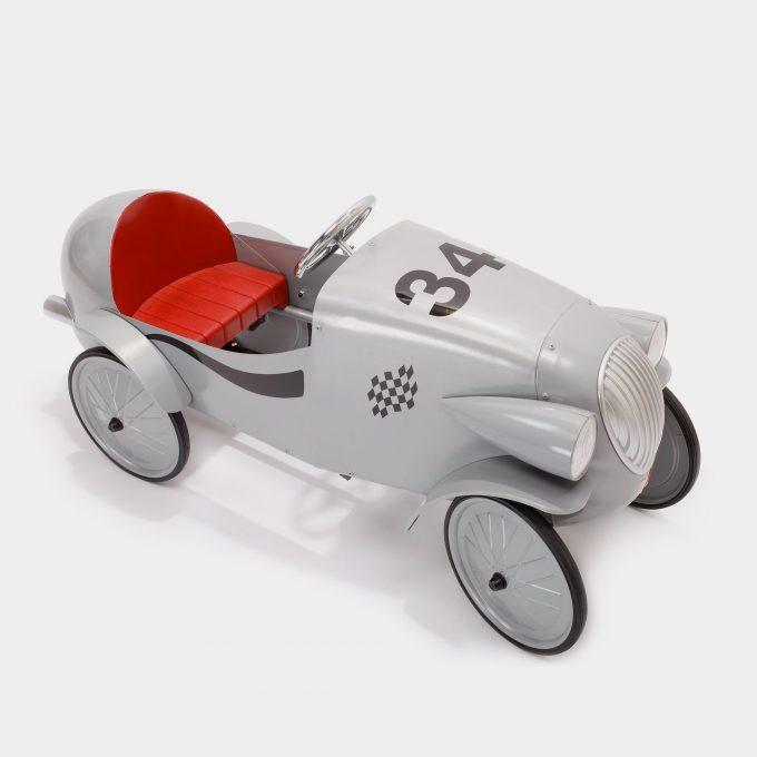 Le Mans Silver Pedal Car