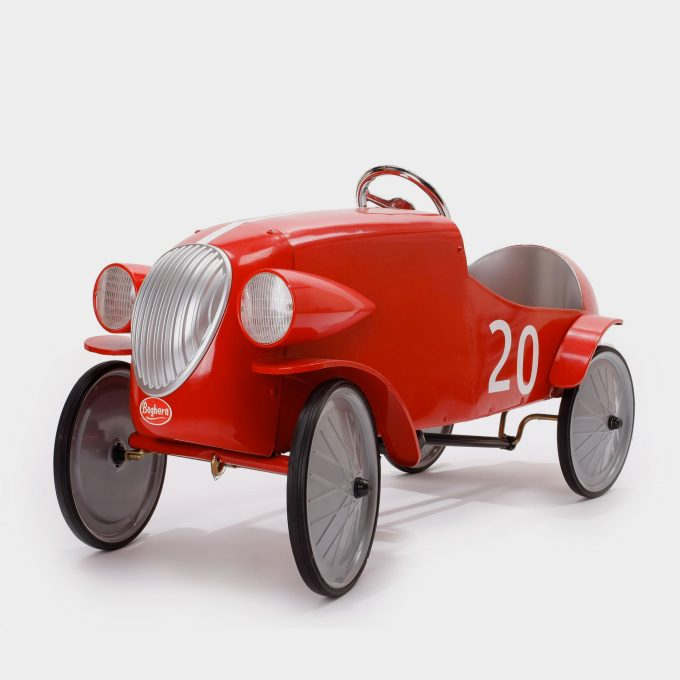 Le Mans Red Pedal Car