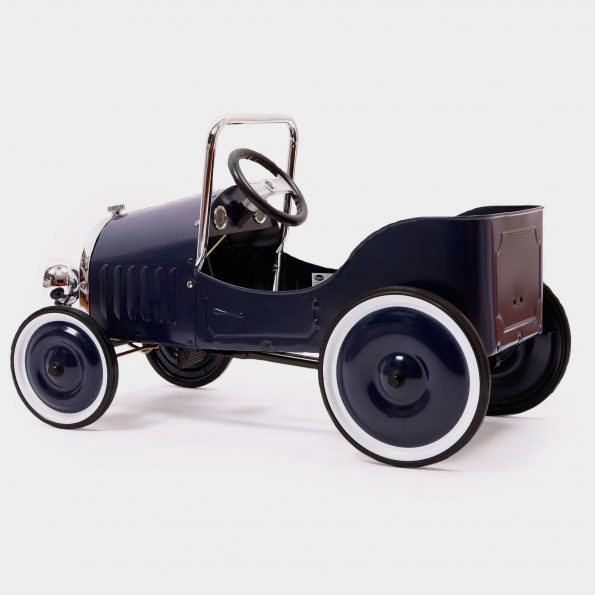 Classic Blue Pedal Car Side