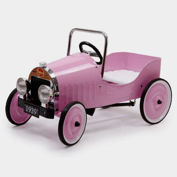 Classic Pink Pedal Car